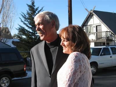 Bob & Robin Webber Newlyweds