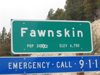 Fawnskin Elevation: Below High Alititude Sickness Level?
