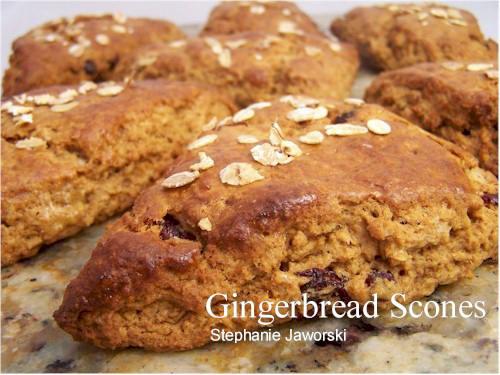 Gingerbread Maple Scones