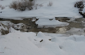 Grout Creek in the Winter