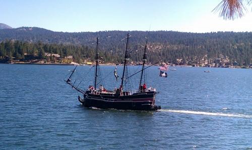 Pirate Ship Fawnskin