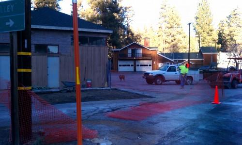 FARTA Bus Stop Construction
