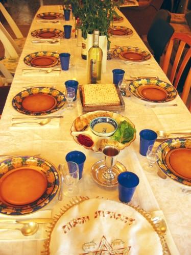 Seder in Fawnskin