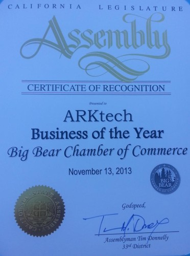 Business of the Year - Recognition