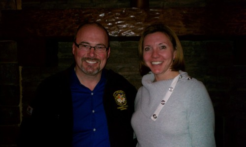 Assembly Member Tim Donnelly + Big Bear Chamber Director Rachel Wade