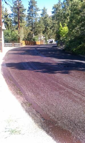 Fawnskin Roadwork