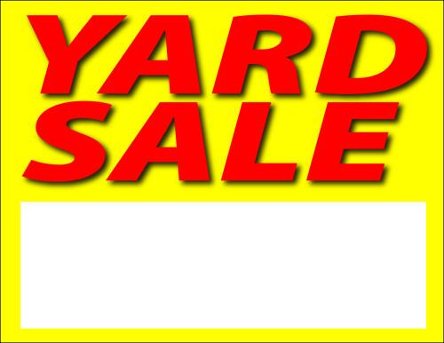 Fawnskin Yard Sale