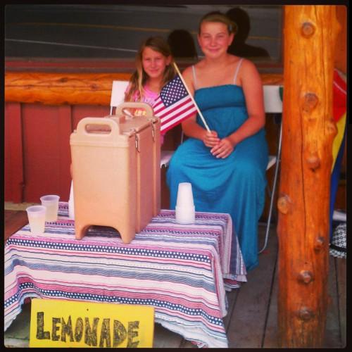 Fawnskin Lemonade Stand