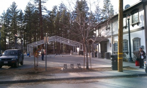 Big Bear Village Construction